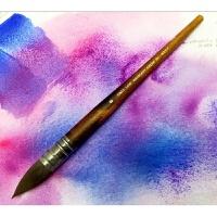 澳洲CINDY LANE 桃花心木彷松鼠毛水彩画笔 拖把画笔 NEEF 13