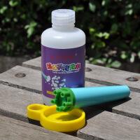 ?乐仔蒲公英泡泡水250ML与喇叭泡泡管 玉米糖浆吹泡泡液早教玩具 图片色