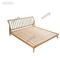 ZUCZUG全实木北欧家具白蜡木床 日式双人床1.5米1.8米简约主卧创意床 举报