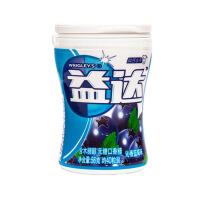 益达木糖醇无糖口香糖沁香蓝莓40粒(瓶装 56g)新老包装随机发货