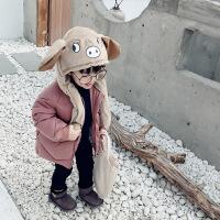 №【2019新款】冬天穿的童装男童棉衣外套儿童小童韩版羽绒棉袄女宝宝潮