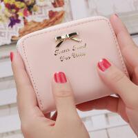 小小钱包韩国迷你女短小零钱包新款女士短款拉链硬币包卡包一体包