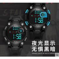新款儿童多功能夜光跑步运动中小学生手表男防水电子表