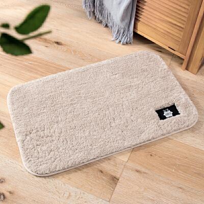 地垫门垫进门脚垫门口加厚长毛卫浴吸水地毯卧室浴室防滑垫子