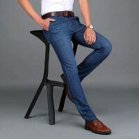 AFS JEEP男士牛仔裤吉普夏季新直筒宽松男装休闲薄款大码长裤8133