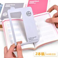 gimen巨门A6语言学习手册加厚创意单词本便携遮挡板英语记忆口袋本随身背初高中迷你韩日语便携单词本