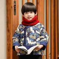 男童唐装2018新款冬儿童汉服男宝宝中式服装中国风古装拜年服