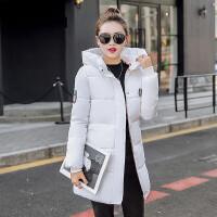 2016冬装新款羽绒棉服中长款女装韩版时尚修身羽绒服连帽棉衣潮
