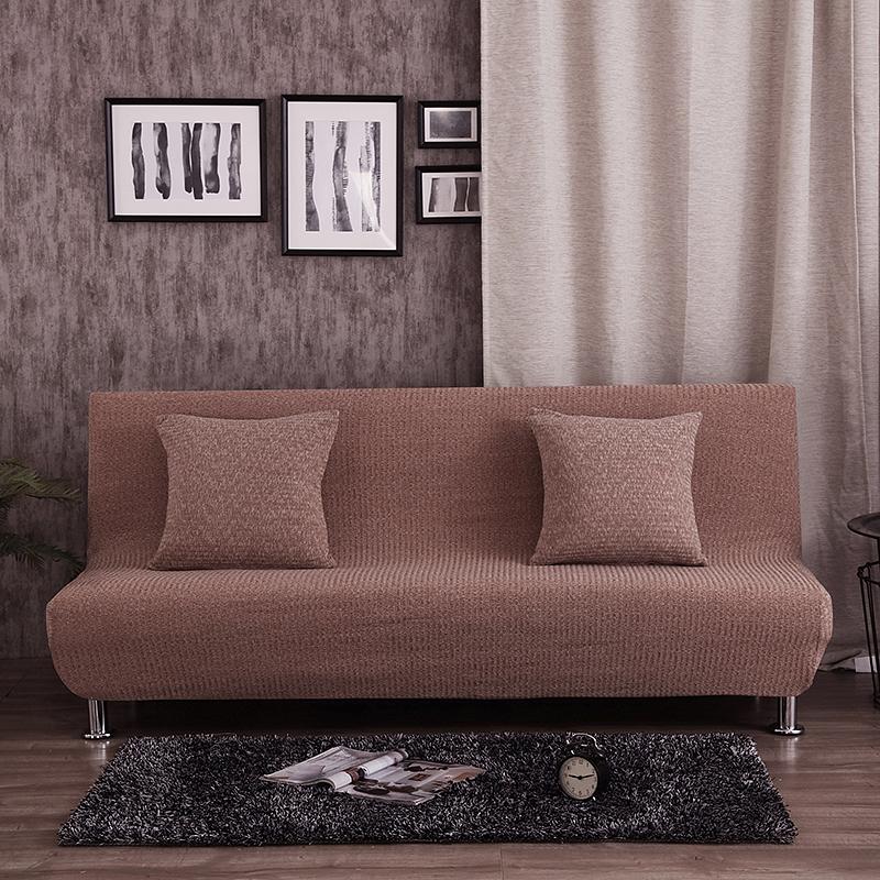 简易折叠沙发床套子沙发巾全包沙发套全盖无扶手沙发罩色防滑