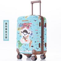 儿童拉杆箱万向轮女宝宝卡通行李箱男20寸22寸24寸旅行箱小孩拖箱