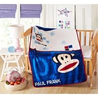小猪佩奇毛毯儿童薄盖毯幼儿园卡通毯子汪汪队法莱珊瑚绒空调毯子