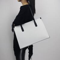 女士大包包简约单肩包大容量真皮女包笔记本电脑包托特公文通勤包SN3988