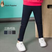 【秒杀价:58元】暇步士女童时尚长裤2020冬季新款中大童舒适加绒打底裤