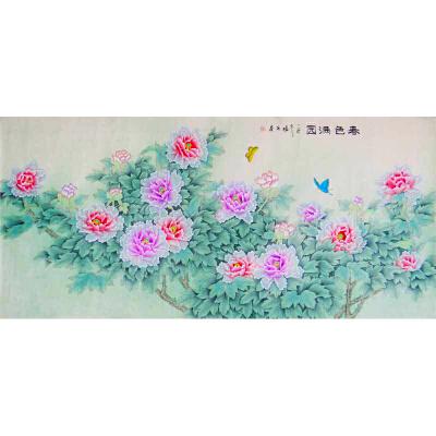 春色满园   现代画家  杨丽