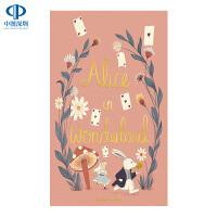 英文原版 爱丽丝梦游仙境 Alice in Wonderland 精装 世界经典儿童文学小说 Wordsworth Co