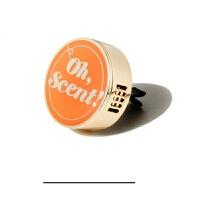 韩国 !车载香薰汽车香水室内香气空气清新剂饰品 鲜橙色 现货