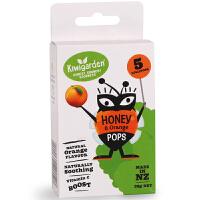 新西兰 奇异果园宝宝儿童天然香橙味蜂蜜棒棒糖 糖果零食含VC 5支