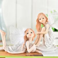 【支持礼品卡支付】欧式小天使摆件汽车装饰品摆件桌面摆设创意礼物家居装饰摆件