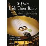 【预订】50 Solos for Irish Tenor Banjo