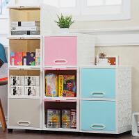 夹缝收纳柜塑料整理柜翻盖式储物柜卫生间窄柜子卧室床头柜缝隙柜