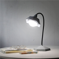 led护眼台灯少女心宿舍书桌学习USB可充电学生卧室阅读床头小夜灯