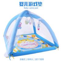 新品婴幼儿游戏毯 爬行垫 宝宝益智摇铃玩具健身架 B6001