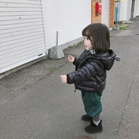 男童女童羽绒服2018新款韩版童装冬装外套儿童轻薄羽绒服