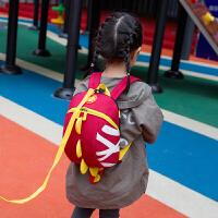 幼儿园双肩书包儿童背包带牵引绳1--3岁男女宝宝小书包
