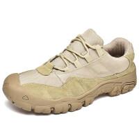 特大号45男鞋秋季户外透气休闲运动工装鞋大码46徒步登山鞋47