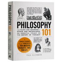 101系列 哲学 英文原版 Philosophy 101 英文版原版书籍 精装进口英语书 Paul Kleinman