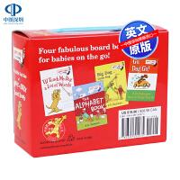 英文原版 The Little Red Box of Bright and Early Board Books 低幼儿童
