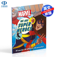 英文原版 DK系列 惊叹我们是超级英雄 Marvel We Are Super Heroes! 全彩漫画绘本 儿童英语读