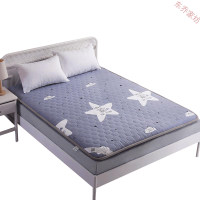 加厚全棉榻榻米床垫床褥1.8m床双人1.5防滑褥子1.2m单人学生宿舍