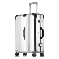 行李箱铝框拉杆箱万向轮旅行箱20寸密码箱24寸26寸29寸