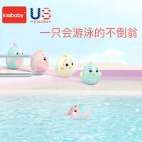 美国0-3-6-12个月婴儿益智玩具宝宝早教0-1岁kissbaby不倒翁玩具