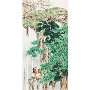 周彦生《工笔花鸟》著名画家