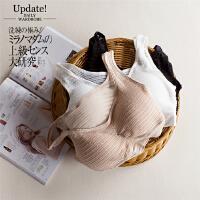 Y33- 夏季新款20 麦穗蕾丝无钢圈背心式文胸女式内衣胸罩 3色
