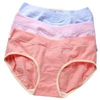 夏季怀孕期内衣低腰盒装孕产妇通用大码2-6个月全棉孕妇内裤棉