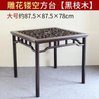 家具小方桌木餐桌实木中式四方桌茶台小茶桌八仙桌玻璃台