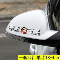 汽车后视镜贴纸可爱卡通个性创意车贴划痕遮挡倒车镜装饰改装防水SN1576