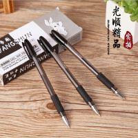 黑珍珠签字笔 黑色水笔 办公专用商务笔 中性笔0.5mm子弹头十二只装