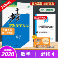 2020步步高学案导学与随堂笔记 数学必修4人教A版云南甘肃
