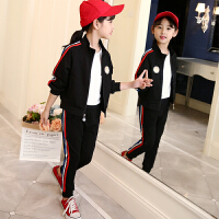 童装女童秋装套装女大童洋气时髦运动两件套