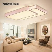 雷士照明现代简约创意LED吸顶灯大气圆形客厅灯卧室灯灯具灯饰