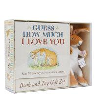 【预订】Guess How Much I Love You Book & Toy猜猜我有多爱你(含玩偶)英文原版儿童绘本
