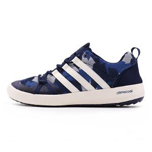 Adidas阿迪达斯男鞋 2017夏季新款户外防滑速干溯溪涉水鞋 S76775