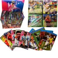 球星卡纸牌游戏桌游卡牌 对决足球明星卡片