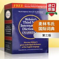 麦林韦氏国际词典 第三版 英文原版 Webster's Third New International Dictiona