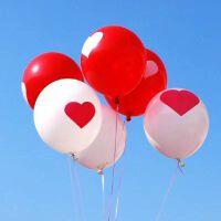 12寸加厚结婚气球印爱心2.8克加厚圆形气球