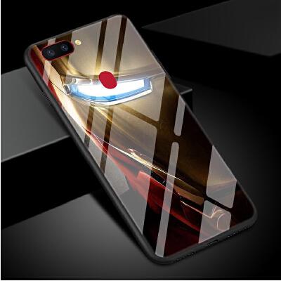 钢铁侠手机壳oppor11s美国漫威人物蝙蝠侠r11splus男女款欧美风格个性创意潮款全包防摔盔甲